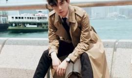 吴磊,帅气有型,海风吹来了春天的青春气息